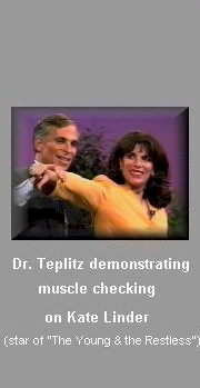 Muscles ckecking by Dr. Jerry Teplitz